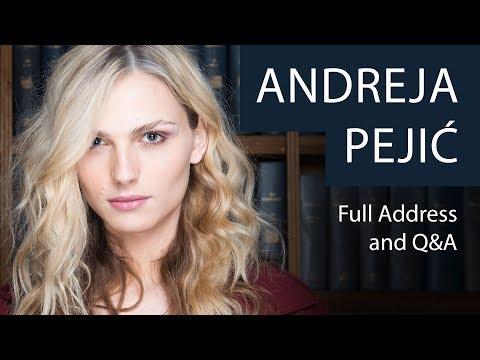 Andreja Pejić   Full Address And Q&A   Oxford Union