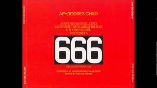 Aphrodite's Child - 666 [The Apocalypse Of John 13 / 18]  [Full Album]