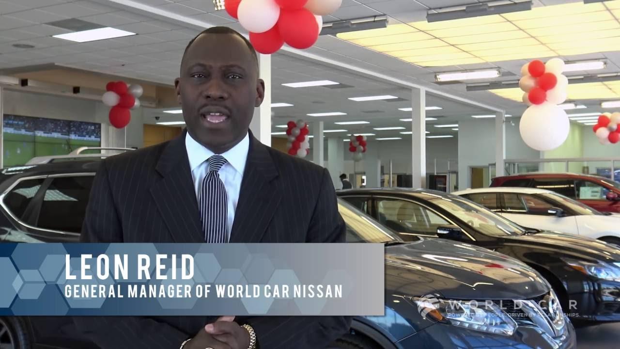 Leon Reid General Manager World Car Nissan Youtube