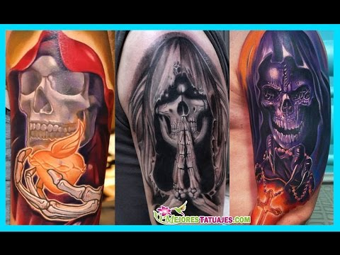 Mejores Tatuajes Dela Santa Muerte Youtube