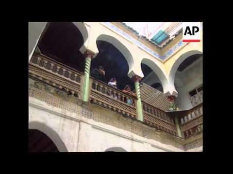 ALGERIA: ALGIERS: CASBAH IS OFF-LIMIT TO JOURNALISTS