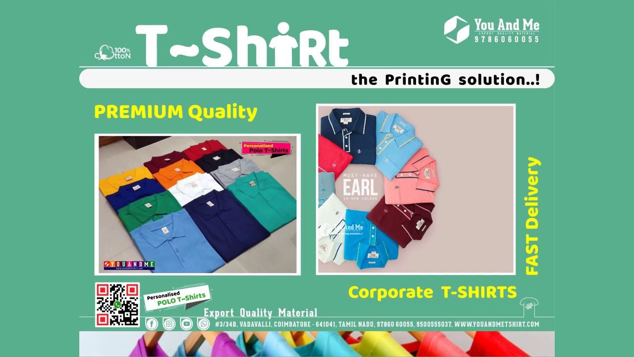 #B2 T-Shirt Printing    Coimbatore    Tamilnadu    Promotional T-Shirt     Customised T-Shirt.