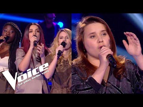 Mylène Farmer (Désenchantée) | JAT vs Betty Patural | The Voice France 2018 | Duels
