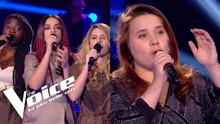 Mylène Farmer (Désenchantée) | JAT vs Betty Patural | The Voice France 2018 | Duels