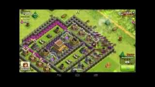 Clash of Clans TH6 Gameplay #1- Giant Healer EPIC 100% 800k resources raid!!!