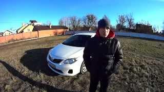 Обзор Тест-Драйв Toyota Corolla 1.33 МТ 99л.с 2010г