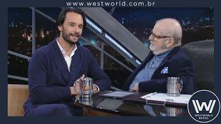 Rodrigo Santoro comenta sobre Westworld no Programa do Jô