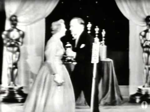 "Shirley Booth winning Best Actress for ""Come Back, Little Sheba"""