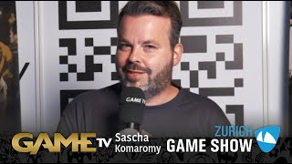 Game TV Schweiz - Interview mit Sasha Komaromy | Founder Swissgaming.org | Zürich Game Show