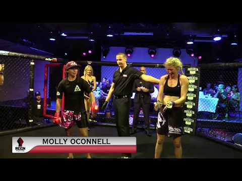 REIGN FIGHTING 3 - MOLLY OCONNELL VS EMMA CHAMBERS - WMMA FIGHT VIDEO