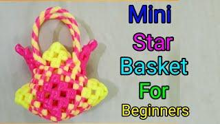TAMIL Mini star Basket Making Tutorial For Beginners