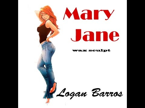Sculpt Mary Jane in Wax Blue Crow part 1