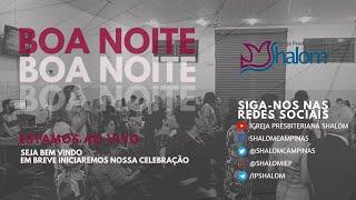 CULTO AO VIVO - 17/05/2020 - LUGAR DE HONRA