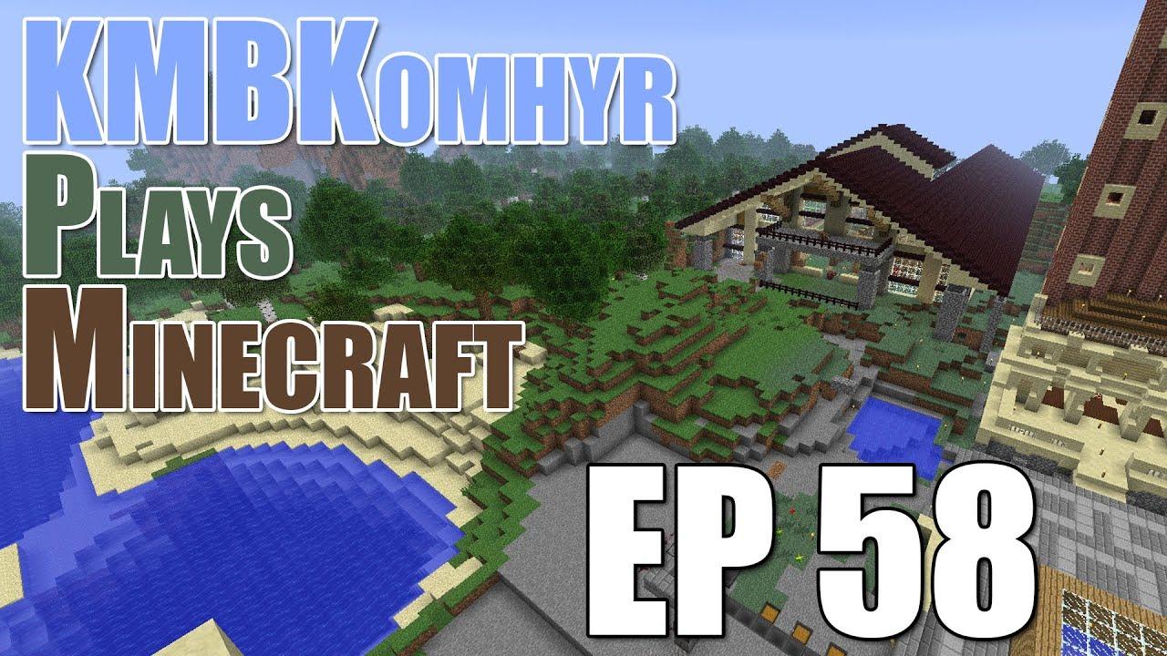Kmbkomhyr Plays Minecraft Ep58 Equestrian Center Youtube