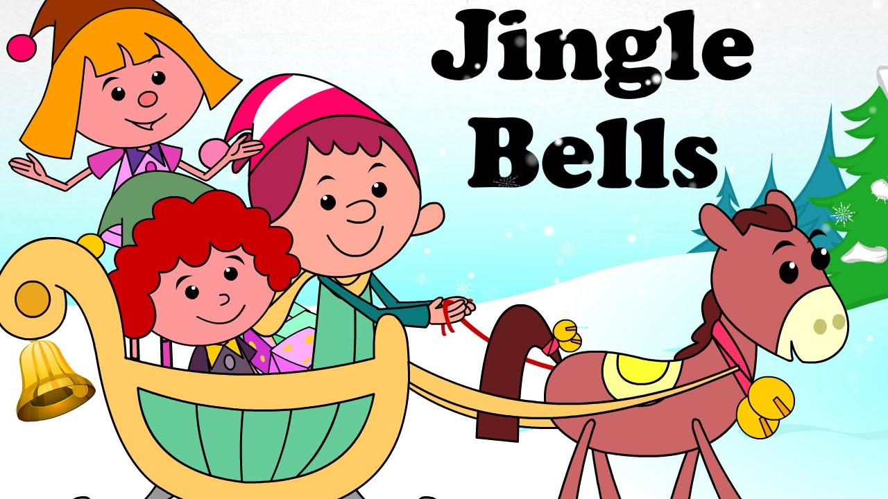 jingle bells cartoon nursery rhymes songs for children youtube