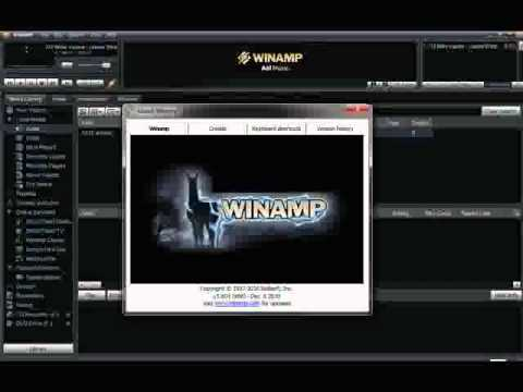 Winamp Pro 5.6 Free download Full version FREE ! with serials - YouTube