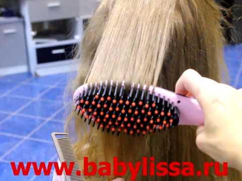 Электрическая расческа fast hair straightener