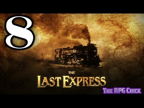 Let's Play The Last Express (Blind), Part 8 of 12: Kronos' Private Car