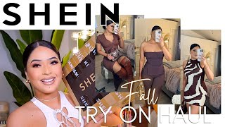 HUGE SHEIN FALL TRY ON HAUL + STYLING   13+ ITEMS   affordable clothing + accessories + fall boots 🍁 screenshot 4
