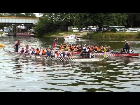Berkshire Vision doing Dragon Boat Racing Jul 15