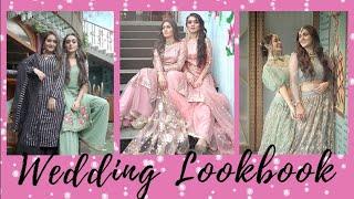 Indian Wedding Lookbook 2020    Sharma Sisters   Tanya Sharma   Kritika Sharma