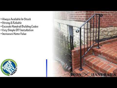 DIY Iron X Handrail Benefits