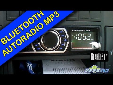 Autoradio MP3 con supporto Bluetooth Vivavoce a 25$ - la recensione