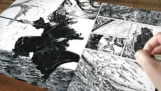 Download Vagabond- Drawing a Manga Page [#8]
