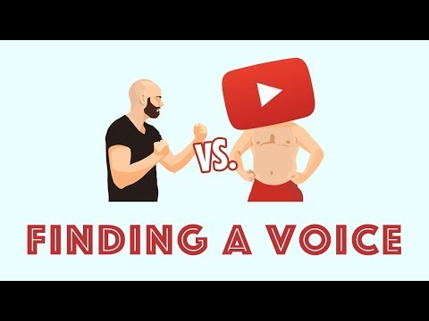 Finding Your Voice   Me vs. the Internet