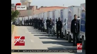 الآن  تقرير.. القوات المسلحة توفر المواد التموينية لأهالي سيناء