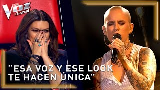 Her look and her delicate voice left everyone speechless at La Voz   EL PASO #2