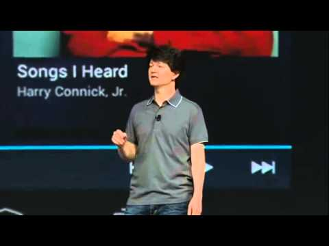 Google Nexus Q Demonstration and official Presentation at Google I/O 2012