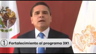 Silvano envía mensaje a la comunidad migrante