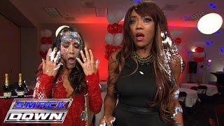 nikki bella s celebration blows up in her face smackdown sept 17 2015