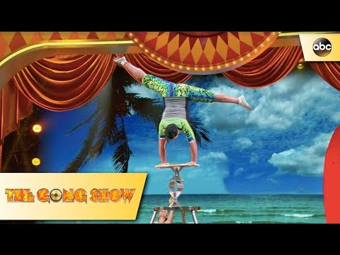 Rollerborders Performance - The Gong Show