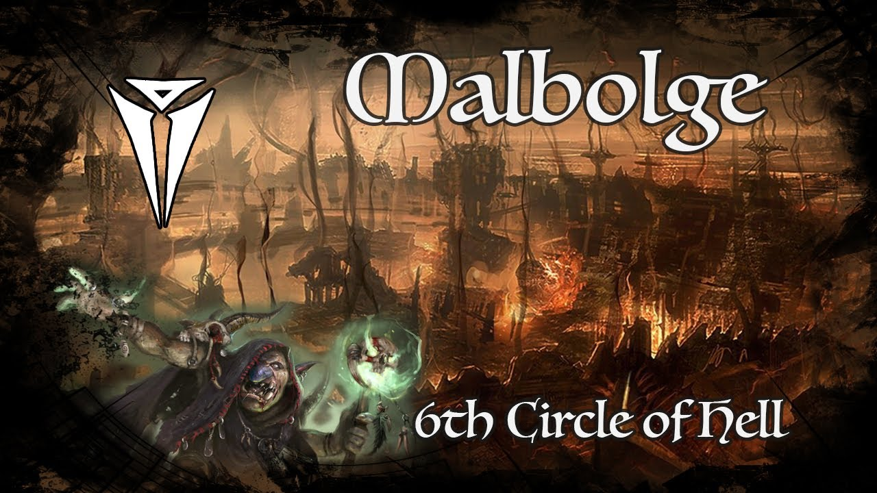 D&D Ambience - Malbolge - 6th Circle Of Hell