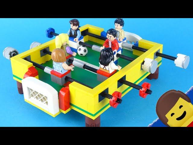 PIŁKARZYKI z LEGO ! EURO 2020 w Twoim domu !