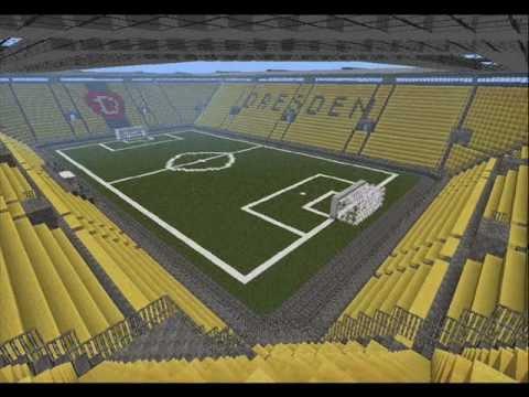 Minecraft Fußballstadion