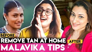 Malavika's Secret For Natural Glowing Skin   DIY Face Pack at Home   Home Remedies