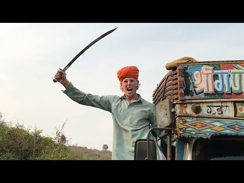 Punjabis in traffic... | 2 Foreigners In...