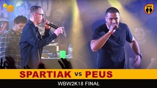 PEUS vs SPARTIAK  WBW 2018  Finał XVI Edycji (B) Freestyle Battle