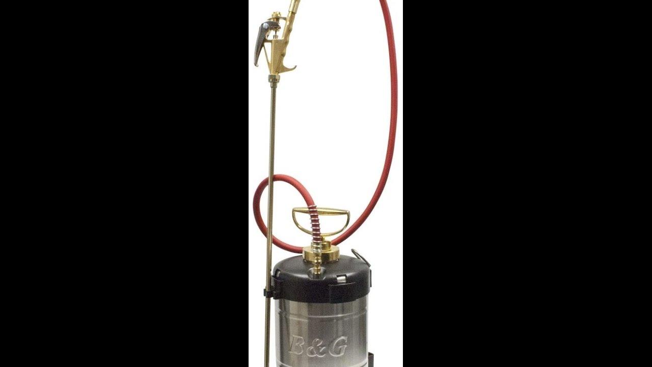 Best Pesticide Sprayer - 2018 B & G handheld pump sprayer- 1 gallon 24