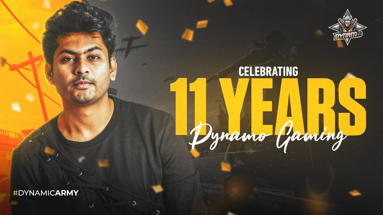 11 YEARS OF DYNAMO GAMING | BATTLEGROUNDS MOBILE INDIA LIVE WITH HYDRA SQUAD