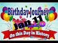Birthday Journey January 11 New