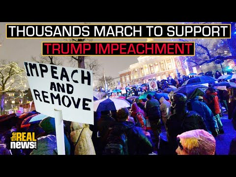 Across America Thousands March To Support Trump's Impeachment
