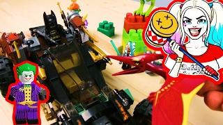 Лего Бэтмен мультик с игрушками. МЕГА НАБОР героев. Минифигурки лего. Смертельная битва!