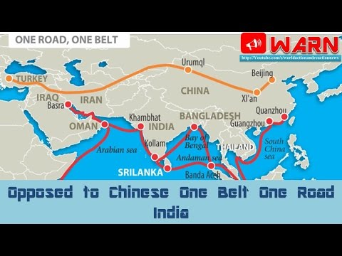 Opposed to Chinese One Belt One Road India
