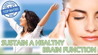 Sustain Healthy Brain Function, Memory, Retention, Stop Anxiety, Depression, Stress, Dementia