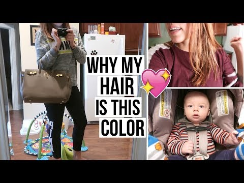DAY IN THE LIFE OF A STAY AT HOME MOM WITH AN INFANT | What In My New Purse