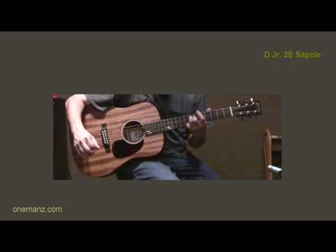 Martin D Jr. 2E Sapele -  One Man's Guitar review